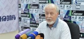 Press conference of pulmonologist Andranik Voskanyan