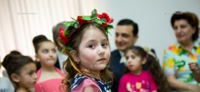 Armenian Health Minister Armen Muradyan visits Arabkir Medical Center on the occasion of International Children's Day
