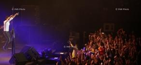 Concert of rock band Okean Elzy in Yerevan
