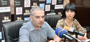 Press conference of Armenian Genocide Museum-Institute director Hayk Demoyan