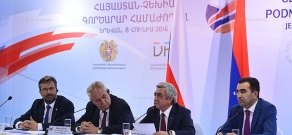 Opening of the Armenian-Czech Business Forum