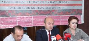 Press conference of Vardan Bostanjyan, Stepan Safaryan and Ruben Mehrabyan
