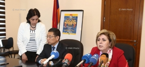 Armenia, China sign agreement on 4-year cultural project