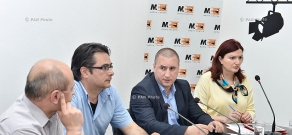 Press conference of President of Armenian Institute for International and Security Affairs Stepan Safaryan,