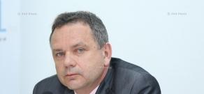 Пресс-конференция посла Франции в Армении Жан-Франсуа Шарпантье