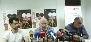 Press conference on Golden Apricot 13th Film Festival