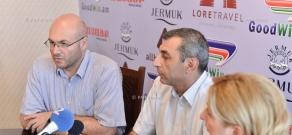 Press conference of Zhirayr Sefilyan's lawyers - Ara Zakaryan and Varuzhan Avetisyan
