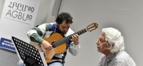 Master class by Guitarist Hubert Käppel in Yerevan