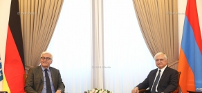 Meeting of Armenian Foreign Minister Edward Nalbandian and OSCE Chairman-in-Office, German Foreign Minister Frank-Walter Steinmeier