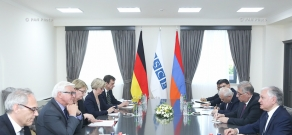 Extended meeting between Armenian Foreign Minister Edward Nalbandian and OSCE Chairman-in-Office, German Foreign Minister Frank-Walter Steinmeier