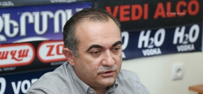 Press conference of Heritage party MP Tevan Poghosyan