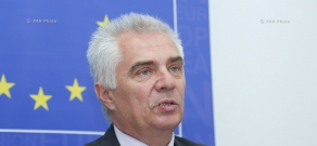 Press conference by the Head of EU Delegation to Armenia, Ambassador Peter Switalski