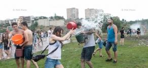 Vardavar water festival 2016 in Yerevan