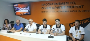Press conference on Prospects of Development of Basketball in Armenia