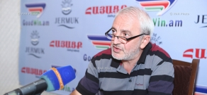Press conference by ANC parliamentary faction secretary Aram Manukyan