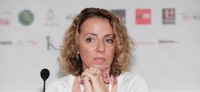 Press conference by film producer Ekaterina Filippova: 13th Golden Apricot Film Festival