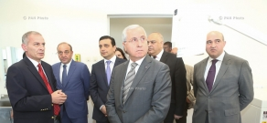 Health Ministry's National Center for Disease Control and Prevention reference laboratory and central building of Agriculture Ministry's State service for food safety reopen in Yerevan