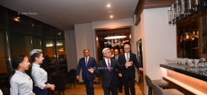 Official opening ceremony of Radisson Blu Hotel Yerevan