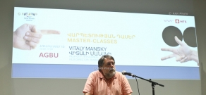 Master class by Director Vitaly Mansky :13th Golden Apricot Film Festival