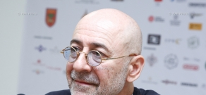 Press conference by director Alexander Andranikian: 13th Golden Apricot Film Festival