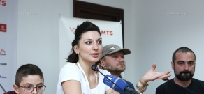 Press conference by director Anna Arevshatyan: 13th Golden Apricot Film Festival