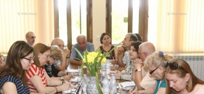 A round table discussion dedicated to the 25th anniversary of Independence of Armenia: 13th Golden Apricot Film Festival