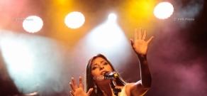 Concert of Dogma rock band in Yerevan