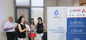A ceremony marking the 21th anniversary of Yerevan Press Club