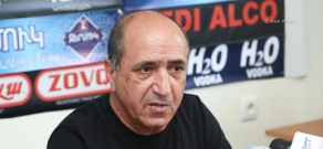 Press conference by National security party leader Garnik Isagulyan