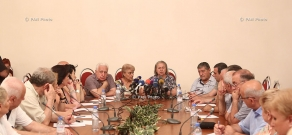 A session of the Culture Committee of the Public Council of Armenia