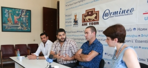 Press conference with the participation of civil activists