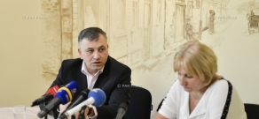 Press conference by lawyers Seda Safaryan and Nikolay Baghdasaryan