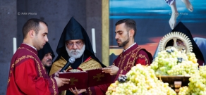 Grape Blessing Ceremony at Mother See of Holy Etchmiadzin