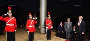 Armenian president Serzh Sargsyan met in São Paulo with governor Geraldo Alckmin and representatives of Armenian community