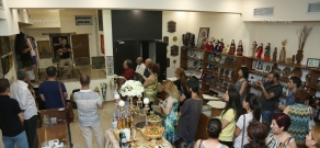 Opening of shop-gallery representing works of Armenian artists