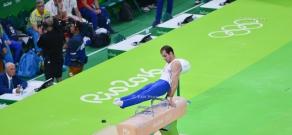 Rio 2016 Olympics: Performance of Armenian gymnast Harutyun Merdinyan