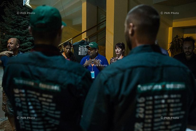 «Կովկասյան մարտահրավեր» ավտոարշավի մրցանակաբաշխության արարողությունը
