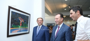 'Stories from the road': Davit Hakobyan's personal exhibition opens in Artists' Union of Armenia