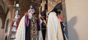 Blessing ceremony for the education workers took place at the Mother See of Holy Etchmiadzin