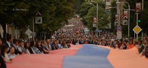 Stepanakert hosts celebrations dedicated to 25th anniversary of Artsakh Republic Proclamation
