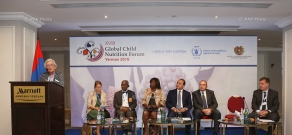 Officil opening of the 18th Global Child Nutrition Forum