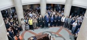 Last farewell to Mesrop Mashtots Institute Director Hrachya Tamrazyan