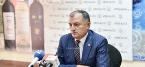 Press conference of RPA faction Secretary Gagik Melikyan