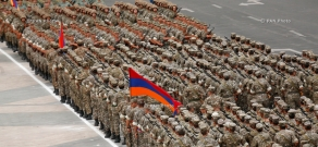 Preparatory works ahead of parade marking 25th anniversary of Armenia's independence