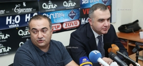 Press conference of National Assembly MPs Levon Martirosyan and Tevan Poghosyan