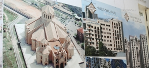 Exhibition of projects of buildings designed by Armenian architects during independence years