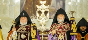 Liturgy dedicated to the 25th anniversary of the Republic of Armenia
