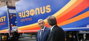 «Айпост» представил новые автомобили по  доставке  почты и грузов в Европу