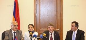Пресс-конференция, посвященная культурному сотрудничеству Между Арменией и Германией