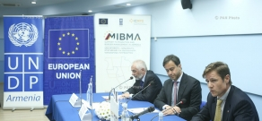 """ICMPD and UNDP signed cooperation agreement for the project """"Support to Migration and Border Management in Armenia"""""""